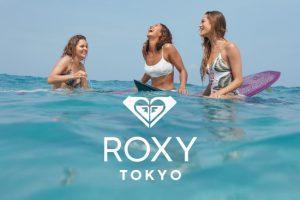 ジムファッション★ROXYのフィットネスラインが可愛い!国内唯一ストア渋谷にオープン