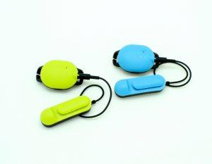 骨伝導音声ガイド・GPSで分かる!水泳トレーニング用デバイス「MARLIN」