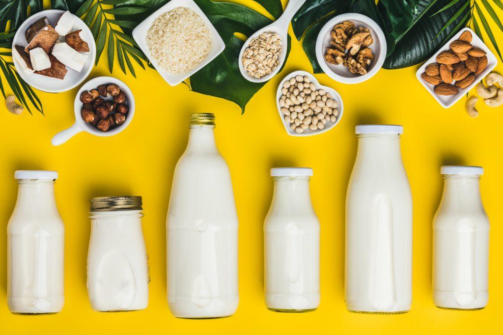 オートミルク豆乳ココナッツミルクアーモンドミルク