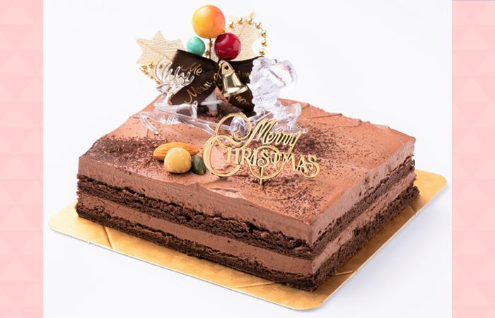 スイーツSaccho(幸蝶)クリスマスケーキ ムースショコラ