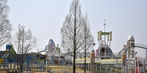 複合遊具(ラガーステーション花園)
