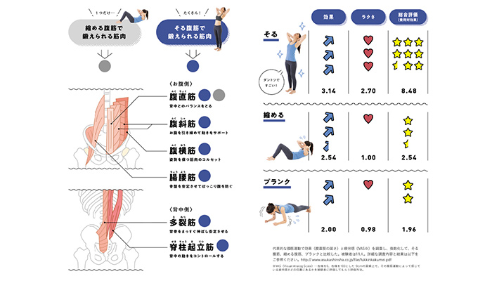 効く筋肉腹筋、プランクより効果大の「反る腹筋」How-to