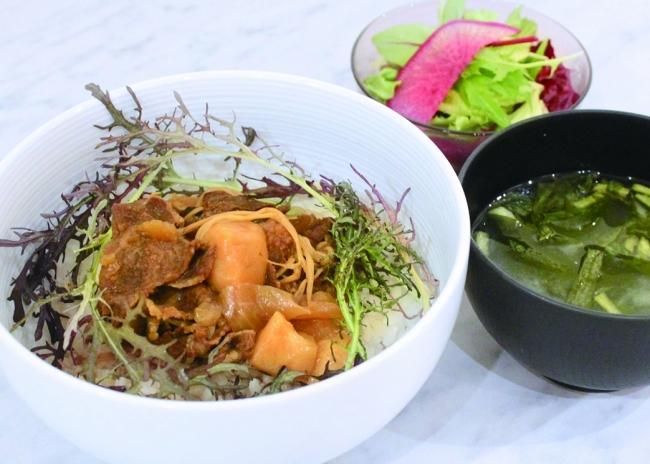 特製つゆ仕込み国産牛すき丼
